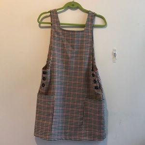 WORN ONCE UO gingham dress w/ POCKETS